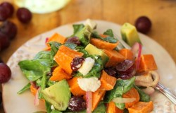Roasted Sweet Potato Salad from The Roasted Root