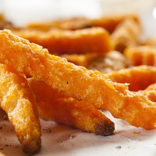 Cripsy Organic Sweet Potato Fries