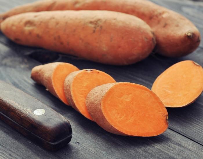 Batatas cultivadas en Carolina del Norte y utilizadas para hacer las mejores batatas fritas